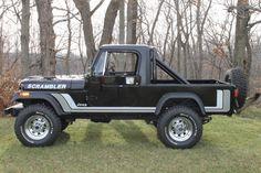 1982 #Jeep CJ-8 Scrambler