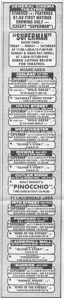 Remember looking in the newspaper for movie show times?