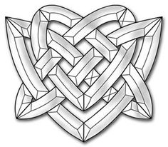 Celtic Heart Bevel Cluster from Delphi Glass Stained Glass Supplies, Stained Glass Projects, Stained Glass Patterns, Mosaic Patterns, Dream Catcher Coloring Pages, Piano Crafts, Delphi Glass, Celtic Heart, Stained Glass Panels
