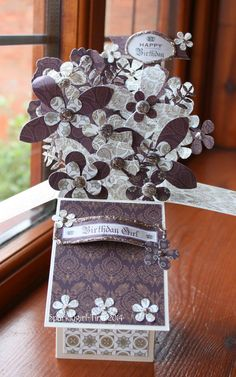 Craftwork Cards Blog: Card in a Box Card or Pop up Cards!