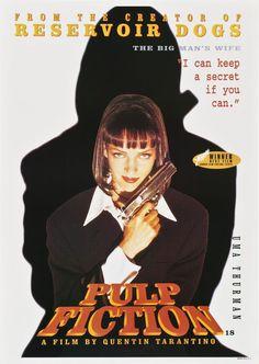 Pulp Fiction - Uma Thurman - Mini Print