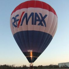 Emily and my RE/MAX Hot Air Balloon Ride