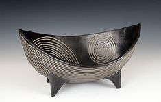 Spirals Viking Bowl