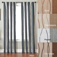 Vastitude Rod Pocket 84-inch Curtain Panel