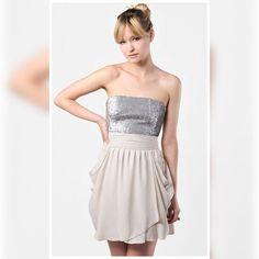 Bnwt Alice + Olivia Sequin Maggie Dress