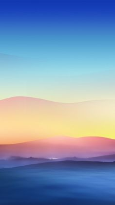 Fantasy Mountains iPhone 6 wallpaper