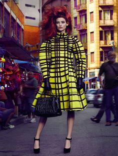 """Proporção GG"" | Models: Cris Herrmann, Nathalia Oliveira & Carolina Thaler, Photographer: Fabio Bartelt, Vogue Brazil, April 2013"