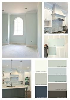 Tips for Choosing Whole Home Paint Color Scheme House Color Schemes Interior, House Color Palettes, House Paint Interior, Paint Color Schemes, Bedroom Color Schemes, Decorating Color Schemes, Home Color Schemes, Decorating Ideas, Decorating Websites