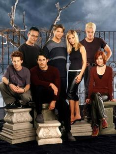 Buffy The Vampire Slayer Cast Mug Photo Coffee Mug