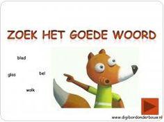 Digibordles: Ritseldans en notentaart Zoek het goede woord http://digibordonderbouw.nl/index.php/themas/herfst/ritseldans