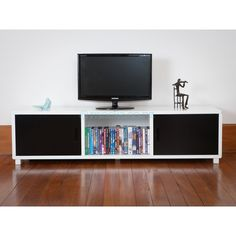 mocka.co.nz $150 TV Unit   TV stand   entertainment unit   TV cabinet   bookcase   home decor