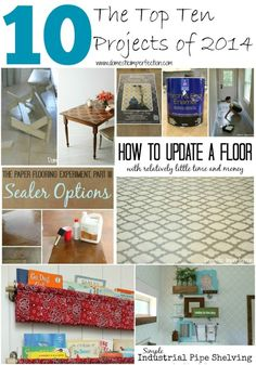 Lots of great ideas and DIY tutorials! by Janis Hendrix