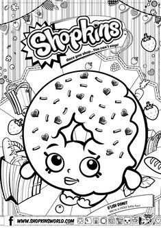 Find This Pin And More On Colouring Pictures Shopkins
