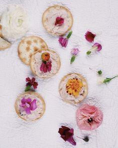 Wellington Crackers, Pink, edible flowers, snack, pretty snack