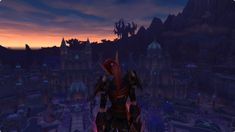 Climbed Suramar with my rogue at the start of Legion. Still my favourite screenshot to this day. #worldofwarcraft #blizzard #Hearthstone #wow #Warcraft #BlizzardCS #gaming