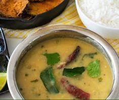 Konkani style dal, quick and easy dalitoy, simple dalitoy recipe Vegetarian Soup, Vegetarian Recipes, Cooking Recipes, Healthy Recipes, Vegan Dinner Recipes, Indian Food Recipes, Ethnic Recipes, Konkani Recipes, Rasam Recipe