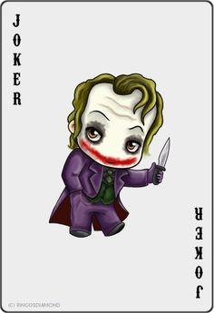 Cute Little Guy with Blade Joker. Harley Tattoos, Harley Quinn Tattoo, Joker And Harley Quinn, Batman Art, Batman Comics, Joker Batman, Gotham Batman, Batman Robin, Dc Comics
