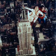 Margot Kidder and Christopher Reeve in Superman IV First Superman, Superman Love, Superman And Lois Lane, Superman Family, Batman Vs Superman, Fiction Movies, Sci Fi Movies, Christopher Reeve Superman, Action Comics 1
