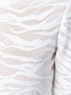 Balmain zebra jacquard dress