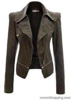 Arrow women leather jacket 5rfte1