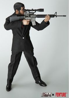 onesixthscalepictures: 3R Golgo13 Mr.Duke Togo : Latest product news for 1/6 scale figures (12 inch collectibles) from Sideshows Collectibles, Hot Toys, Medicom, TTL, Triad Toys, Enterbay and others.