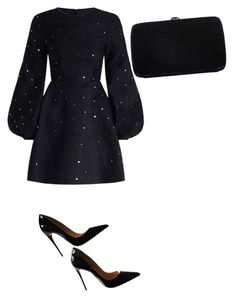 """""""Untitled #372"""" by alle-allexa on Polyvore featuring beauty, Zimmermann, Christian Louboutin and Sergio Rossi"""