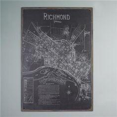 Reproduction Richmond Map