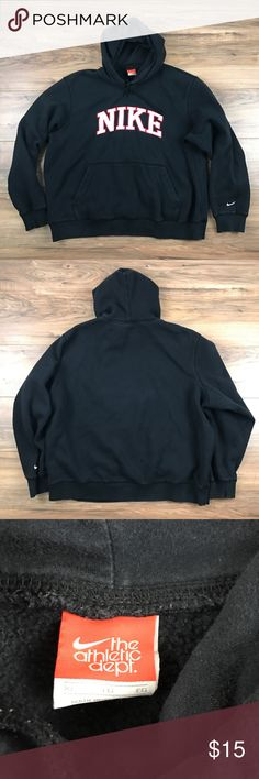 Nike Hoodie Nike hoodie. 100% cotton. Small hole on right sleeve. Still in good condition. Nike Sweaters