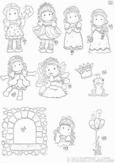 Colouring Pics, Coloring Pages, Doddle Art, Magnolia Pictures, Black And White Drawing, Marker Art, Free Prints, Digi Stamps, Copics