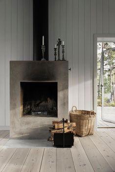 Peek Inside a Minimalist's Dream Summerhouse in Sweden - NordicDesign