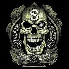 Gangsta Skulls | Gangster Skulls - LiLz.eu - Tattoo DE