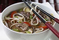 Australian Beef Noodle Soup | #TABeef #ribeye www.australian-beef.com