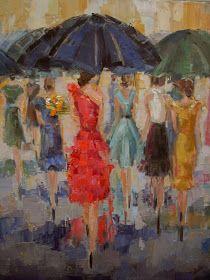 "Kathryn Trotter Art: ""The Invitation"" by Kathryn Morris Trotter"