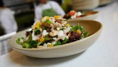 Healthy Dining in Newport Beach! Photo: True Food Kitchen Chicken Chopped Salad. For list of more restaurants visit http://www.visitnewportbeach.com/blog/healthy-dining-newport-beach/ #newportbeach #healthydining