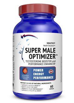 Super Male Optimizer Ashwagandha Testosterone Booster Supplement + Multivitamin #Souletics