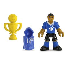 Imaginext® Collectible Figure Soccer Player - Shop Imaginext Kids' Toys | Fisher-Price