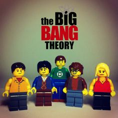 The Big Bang Theory LEGO! Oh my god. Oh my god. Oh my god!!! This is the greatest thing I've ever seen in my whole life!!!!!!!!!!