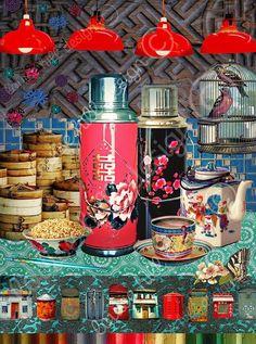 3 Unconventional Things To Do In Hong Kong In China, Chinese Restaurant, Restaurant Design, Chinoiserie, Hong Kong Disneyland, Hong Kong Art, Old Shanghai, Hongkong, Chinese Design
