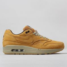 Nike Air Max 1 LTR Premium Shoes Wheat Pack - Bronze