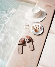 Summertime vibes by the pool Summer Feeling, Summer Vibes, Good Vibe, Summer Aesthetic, Beige Aesthetic, Summer Accessories, Summer Of Love, Men Summer, Style Summer