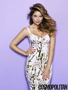 Ashley Benson cosmopolitan magazine | Ashley Benson is Cosmopolitan Magazine's March 2014 Cover Girl: See ...