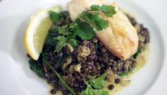 Want to make fish fo further? Serve smoked haddock with creamy lentils for a satisfying supper that won't break the bank.