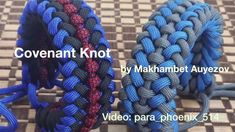Covenant Knot (Modified Sanctified) Paracord bracelet by Makhambet Auyezov with no buckle - YouTube