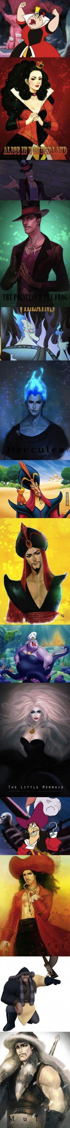What if disney villains were beautiful 2