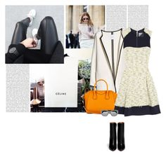 A fashion look from September 2015 featuring white chiffon dresses, white coat and black bootie. Browse and shop related looks. White Chiffon, Chiffon Dress, Le Specs, Black Booties, 3.1 Phillip Lim, Givenchy, Mango, Fashion Looks, Coat