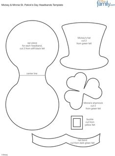 shamrock templates printable | Shamrock Template | Crafts ...