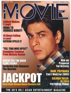 SRK - Movie magazine cover December 2004 (US/Canada)