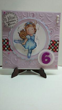 Card ballerina  #card #auguri