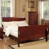 Louis Philippe Ii Sleigh Bed