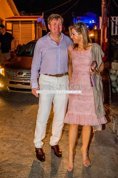 King Willem-Alexander and Queen Maxima of The Netherlands visit St Eustatius on Nov. 30, 2017